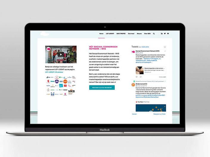 Website SEN-MVS