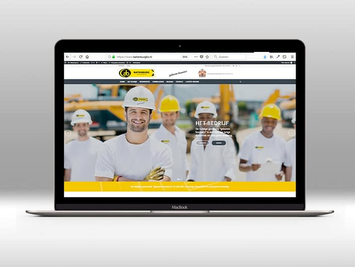 Website - Batenburg bouw & ontwikkeling