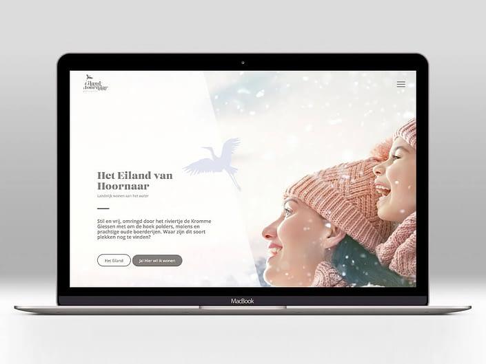 Website - Het Eiland van Hoornaar