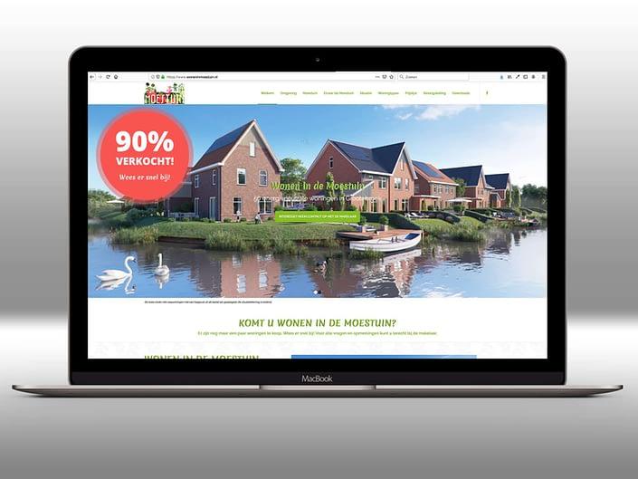 Website - Wonen in Moestuin