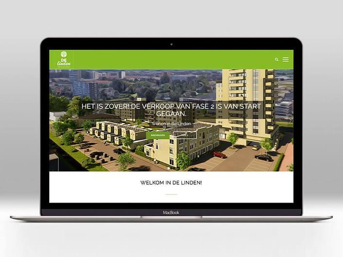 Website - Wonen in de Linden