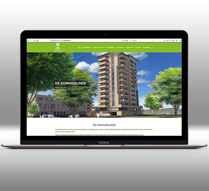 Website - Wonen in de Linde
